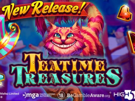 H5G debuts new Wonderland-themed video slot Teatime Treasures