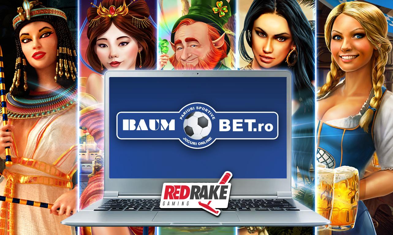 Red Rake Gaming releases on Baumbet.ro