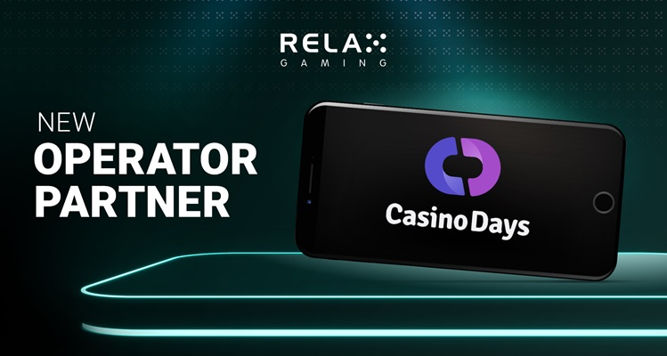 Relax Gaming to launch unique content with new online brand Casino Days