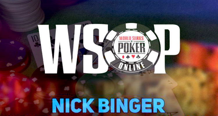 Nick Binger earns 2nd WSOP gold bracelet with Event #24 win
