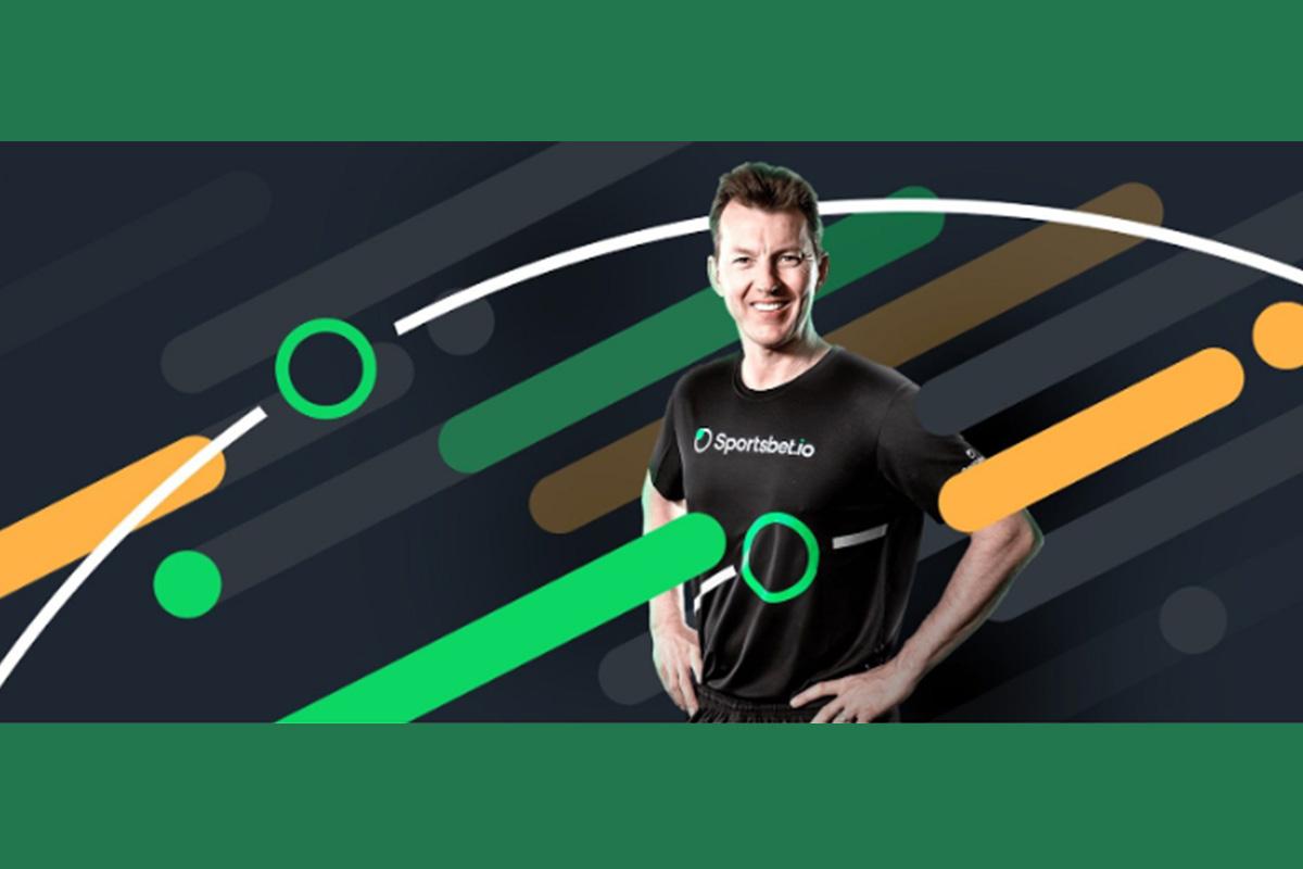 Brett Lee Becomes Brand Ambassador of Sportsbet.io