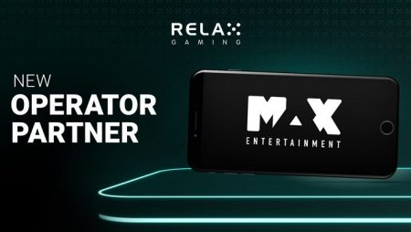Relax Gaming agrees new partnership deal with Max Entertainment further expanding its client roster