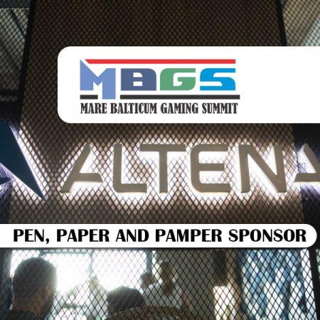 Altenar announced as Pen, Paper and Pamper Sponsor at MARE BALTICUM Gaming Summit 2020 (Tallinn, Estonia)