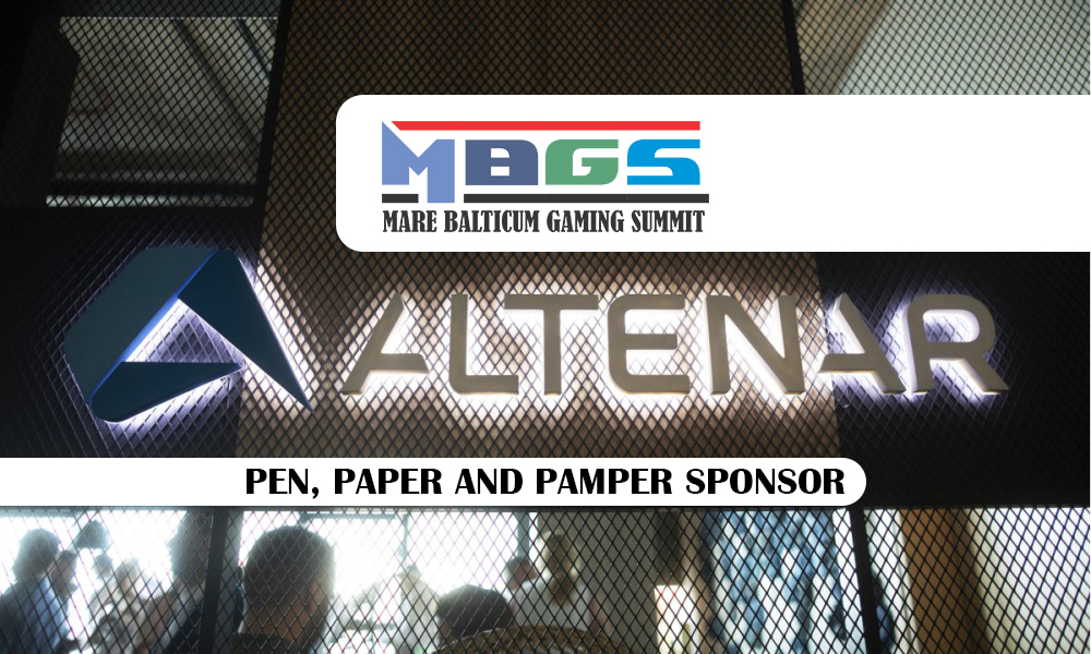 Altenar announced as Pen, Paper and Pamper Sponsor at MARE BALTICUM Gaming Summit 2020 (Tallinn, Estonia)