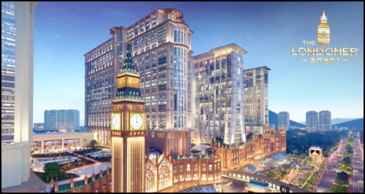 September expectations for Sands China Limited's new The Londoner Macao