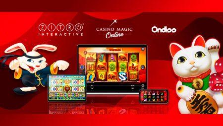 Strategic Alliance Between Zitro, Casino Magic Online and Ondiss