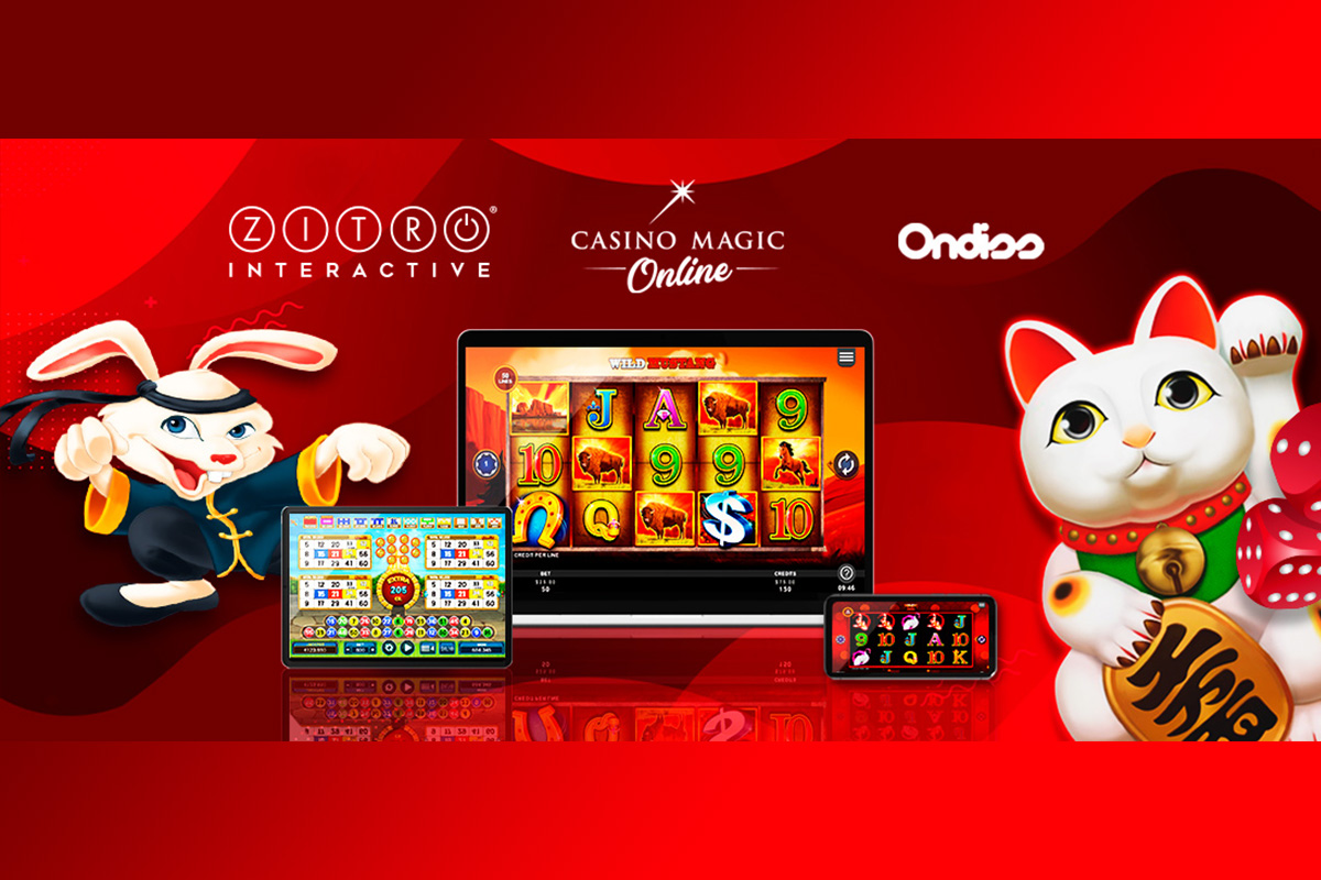 Strategic Alliance Between Zitro, Casino Magic Online and Ondiss