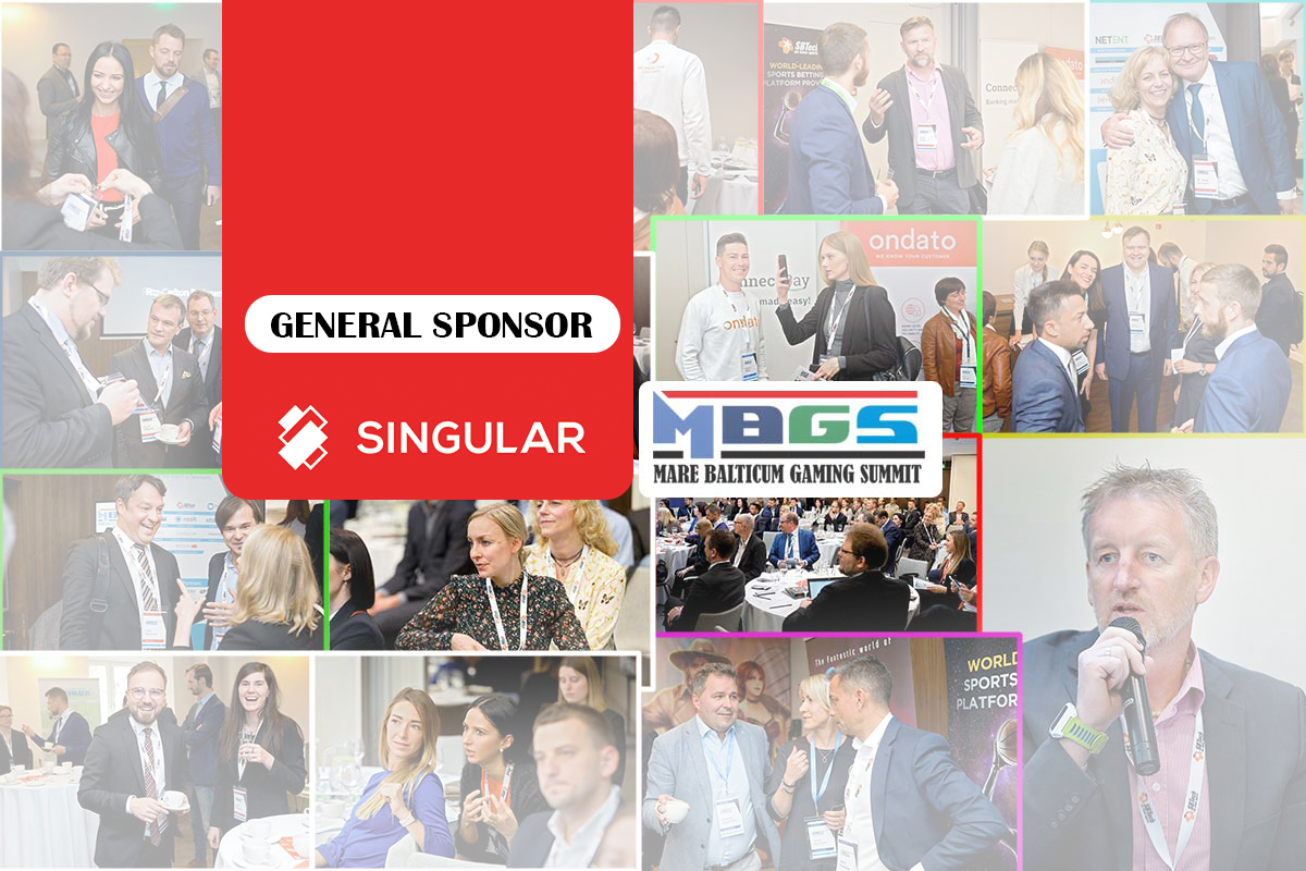 SINGULAR joins the sponsors lineup at MARE BALTICUM Gaming Summit 2020 (6 August, Tallinn)