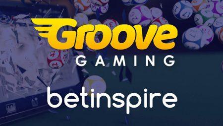 GrooveGaming announces new BetInspire partnership