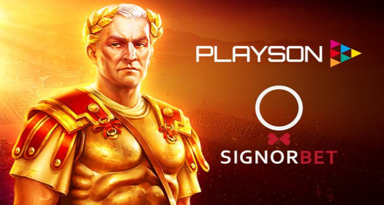 Playson to deliver premium quality slots catalog to Italian operator SignorBet
