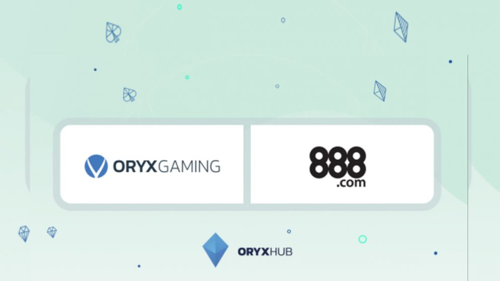 ORYX Gaming launches with 888casino