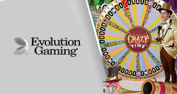 Enjoy a mix of action in Evolution Gaming's new Crazy Time release