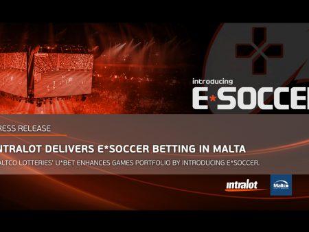 INTRALOT Launches E*SOCCER Betting in Malta