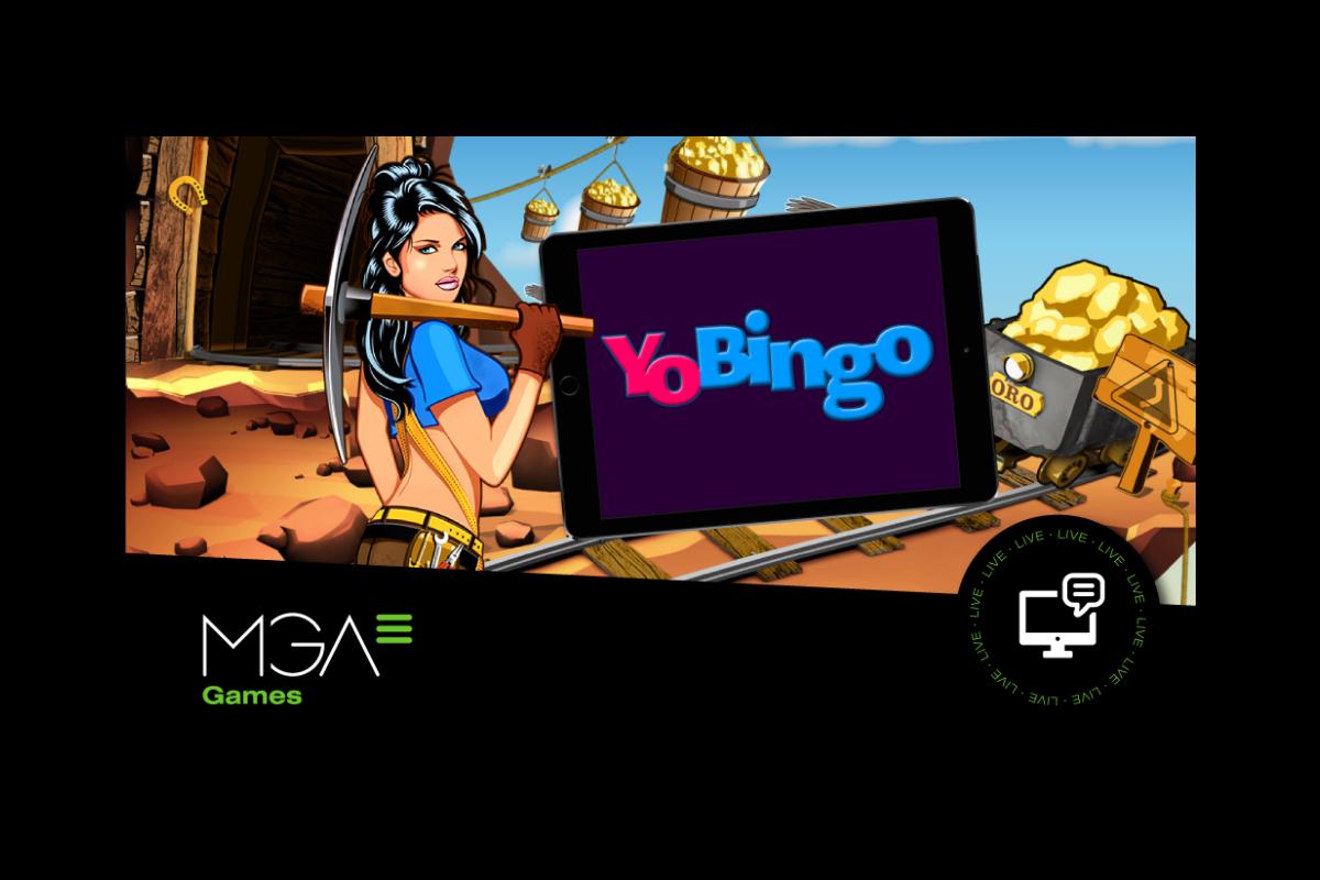 Yobingo.es boosts their online slots catalogue by adding MGA Games to their portfolio