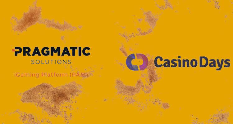 Rhino Entertainment's CasinoDays.com now live via Pragmatic Solutions