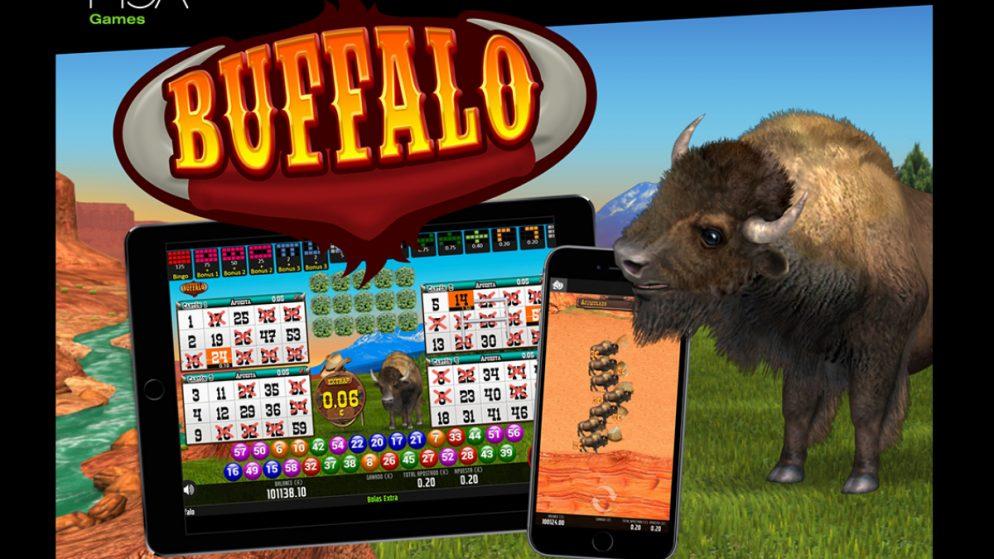 MGA Games' Buffalo Bingo has been launched for international operators