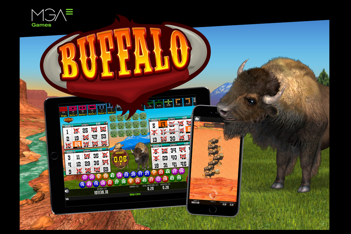 MGA Games' Buffalo Bingo has been launched for international operators