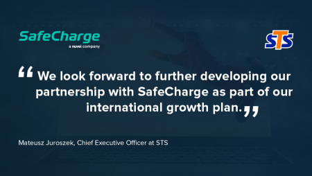 STS Gaming Enters into Partnership with SafeCharge