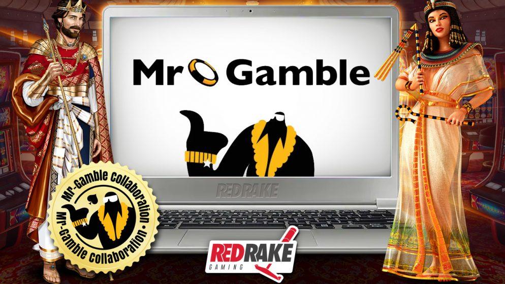 Mr. Gamble and Red Rake Gaming go into partnership
