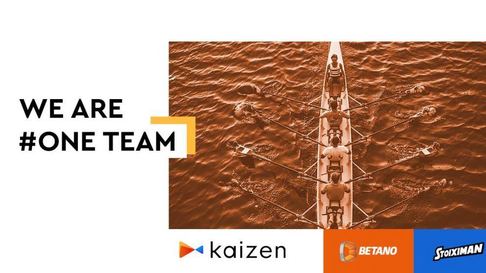 Stoiximan and Betano rebrand as Kaizen Gaming