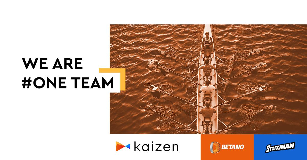 Stoiximan and Betano rebrand as Kaizen Gaming