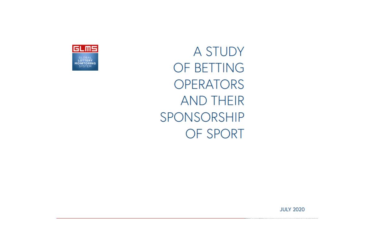 GLMS presents betting sponsorship study
