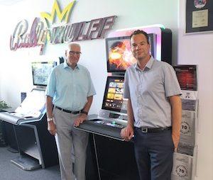 Bally Wulff hosts DAW at gaming machine factory