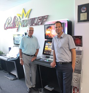 Bally Wulff hosts DAW at gaming machine factory