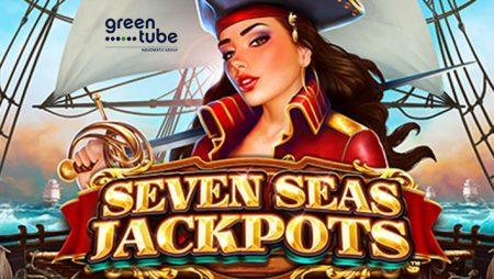Sunken treasures await in Seven Seas Jackpots online slot by Greentube