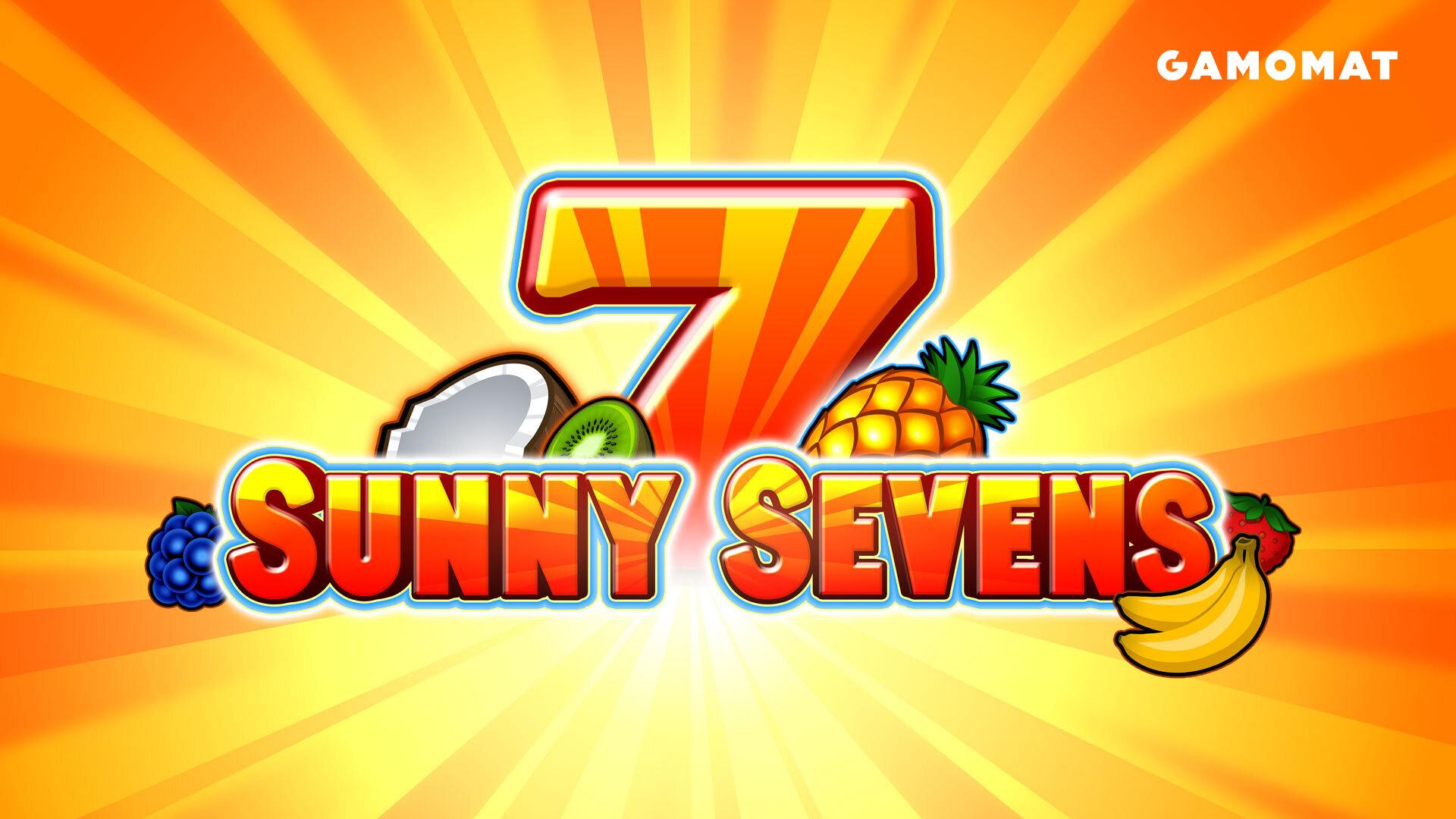 GAMOMAT releases star slot Sunny Sevens
