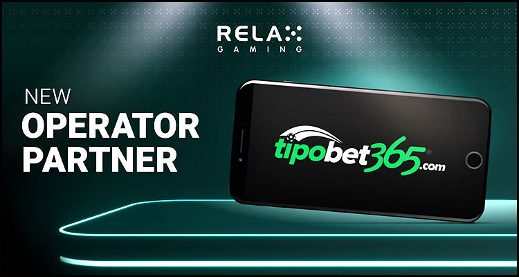 Relax Gaming Limited inks Tipobet365.com integration alliance
