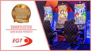 EGT slot Global Gaming Awards finalist