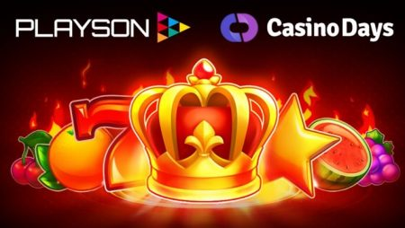 Playson further expands German audience courtesy of Casino Days launch