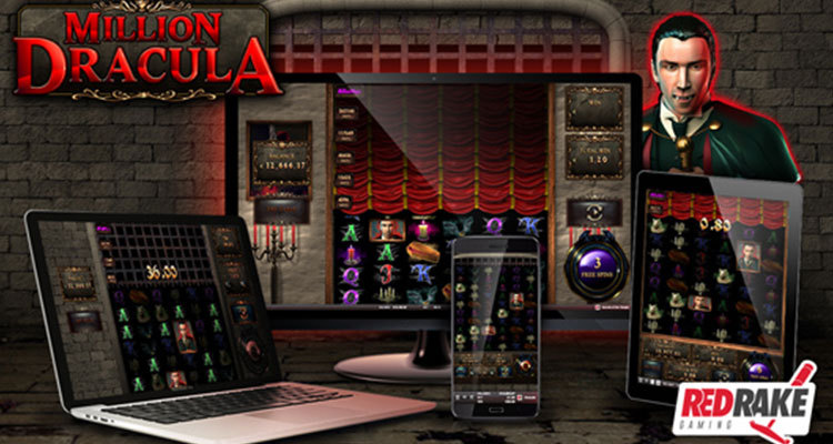 Red Rake Gaming unveils innovative Million Dracula online slot game