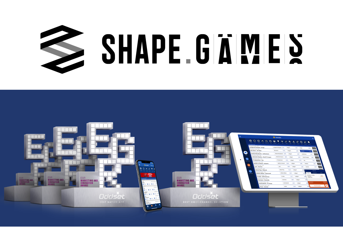 Danske Spil and Shape Games land EGR Awards hat-trick