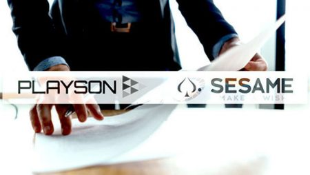 Playson and Sesame sign new online gaming content deal