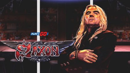 Play'n GO tackle popular 80's metal band in new online slot Saxon