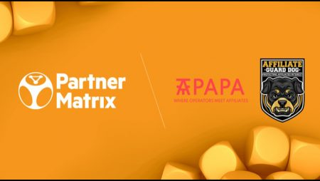 EveryMatrix Software Limited inks PartnerMatrix alliances with Affiliate Guard Dog and AffPapa