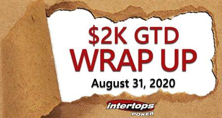 Intertops Poker announces Month-end Wrap up tournaments