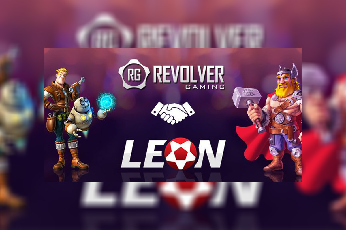 Leon Gaming Adds Revolver Gaming to casino library