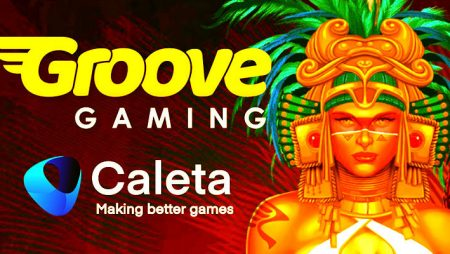 GrooveGaming announces new game content integration with Caletta Gaming