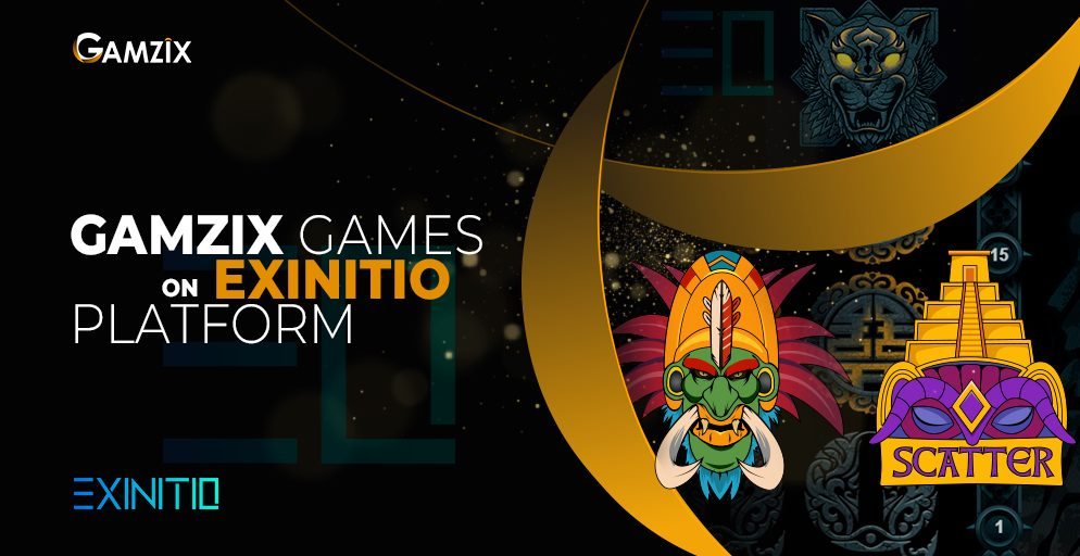 Gamzix signs an agreement young and thriving Exinitio iGaming provider