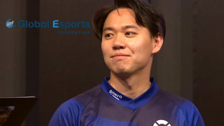 Game on for the Global Esports Federation With Top Ranking Esports Athlete Tokido