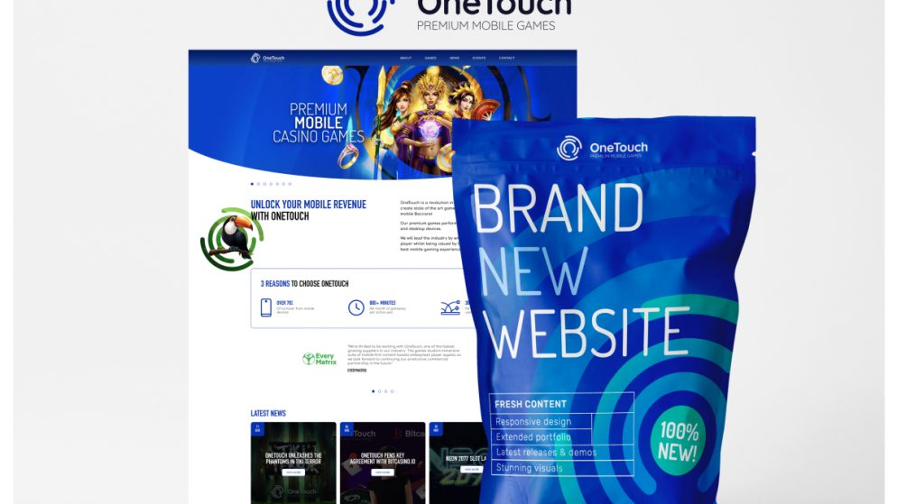 OneTouch launches new website showcasing mobile-first content portfolio