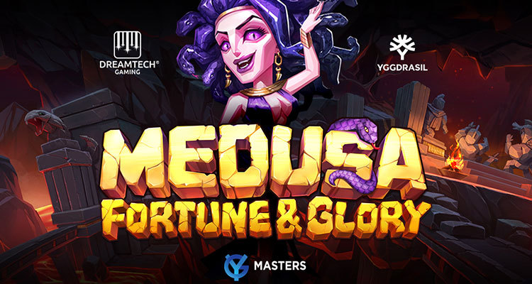 Yggdrasil releases new video slot Medusa Fortune & Glory created by YG Masters partner DreamTech Gaming