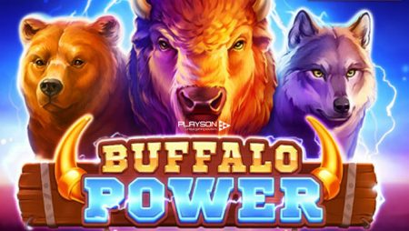 Journey across the American prairie with Playson's new online slot Buffalo Power: Hold and Win