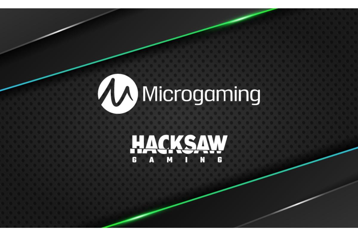 Hacksaw Gaming signs with Microgaming