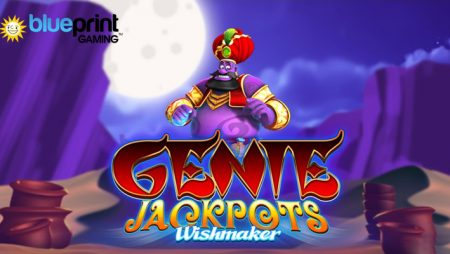 Blueprint Gaming takes players on a magic carpet ride in its latest slot release Genie Jackpots Wishmaker