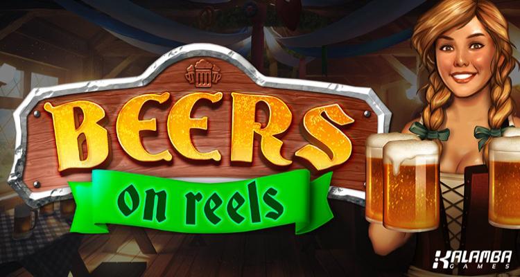 Sample Oktoberfest in Kalamba Games' new slot Beer on Reels