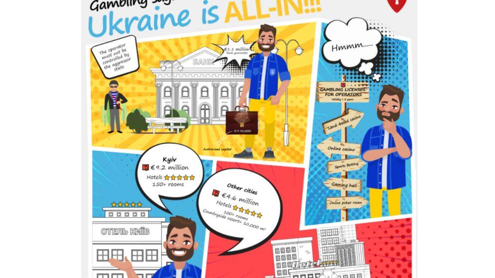 Infographic – Gambling saga: Ukraine is all-in!